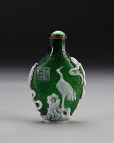 Lot: Chinese Peking Glass Snuff Bottle, Lot Number: 0621, Starting Bid: $200, Auctioneer: Altair Auctions, Auction: Fine Asian Works of Art, Date: February 28th, 2015 CST