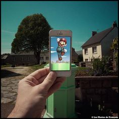 Artist Incorporates Scenes from Pop Culture into Real Life Using His Phone