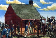 Bemis Heights, battle of Saratoga, NY.  pic found online with google search in 2014