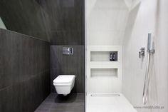 small attic bathroom  // mała łazienka na poddaszu // MIRAI studio: projektowanie wnętrz, projekty wnętrz Kraków, projekty wnętrz Warszawa, architektura wnętrz, nowoczesne wnętrza