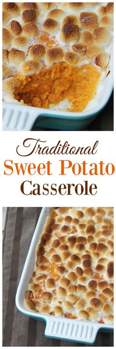 Sweet Potato Casserole made with Breville's The Smart Oven - Family Food And Travel: