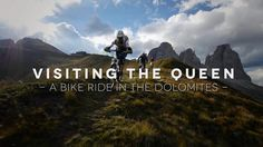 Visiting the Queen – A Mountainbike-Trip in the Dolomites (English Version)
