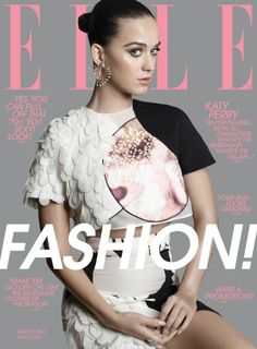 Katy Perry for ELLE, March 2015 cover