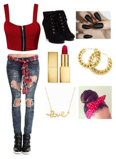 """Becky G style"" by mariyatoro on Polyvore"