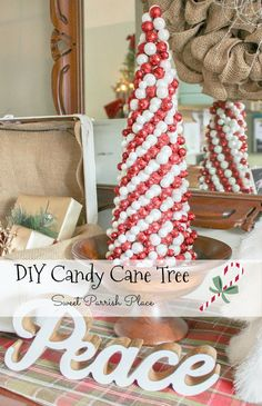 DIY Candy Cane Chris