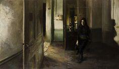 "Giorgos Rorris  ""Ioanna"", double portrait of a woman, 2010, 145x251"