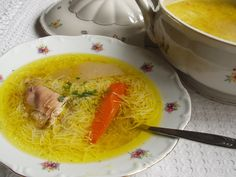 How to make the perfect and most delicious Hungarian chicken soup Soup Recipes, Great Recipes, Cooking Recipes, Polish Chicken, Polish Recipes, Polish Food, Hungarian Recipes, Proper Nutrition, Yum Yum Chicken