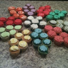 girl scout daisy cupcakes - Google Search