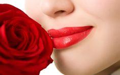 love lips wallpaper