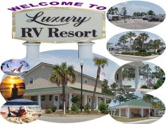 Luxury RV Resort - Closest RV Park to the Gulf of Mexico - Gulf Shores, Alabama on the beach