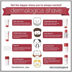 Give dad the gift of good skin this Father's Day. Dermalogica shaving products…