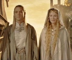 The Lord of the ring & the hobbit imagines - Galadriel/Celeborn Arwen, Aragorn, Legolas, Elfa, Tauriel, Kili, Fellowship Of The Ring, Lord Of The Rings, Lotr Elves
