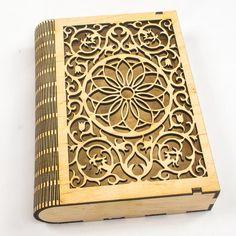 Подарункова коробочка для книжки.   #Gift, #Wood, #Woodgift, #Іграшка, #ІграшкаНаЯлинку, #Книжка, #Коробочка, #Лазер, #ЛазернаяРезка, #Подарок, #Подарунок, #Сніжинка, #Украина, #Черкассы, #Шкатулка - http://woodgift.net/product/podarunkova-korobochka-dlya-knizhki/