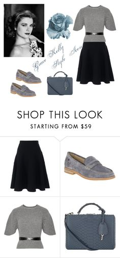 """""""Icon of Style"""" by bootycapo ❤ liked on Polyvore featuring Lands' End, Hush Puppies, RED Valentino and Mark Cross"""
