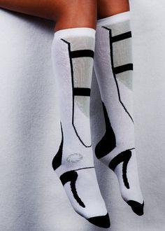 J!NX : Portal 2 Long Fall Socks - Clothing Inspired by Video Games & Geek Culture