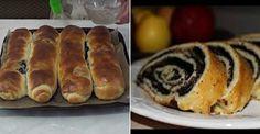 Domáci makový závin od babičky - Receptik.sk Hot Dog Buns, Hot Dogs, Strudel, Sushi, Food And Drink, Ricotta, Bread, Baking, Cookies