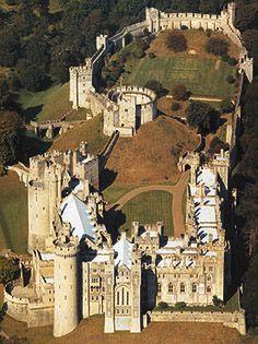 Arundel Castle, Arundel, West Sussex, England - www.castlesandmanorhouses.com