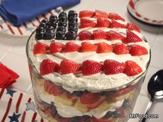 Complete July 4th BBQ Menu with recipes! You've got all the makings of an incredible 4th of July barbecue right here! From steak and hot dogs to festive cupcakes and pies, we've taken care of the menu so you can focus on planning the perfect Independence Day celebration. Just add friends, family and of course, some awesome fireworks.