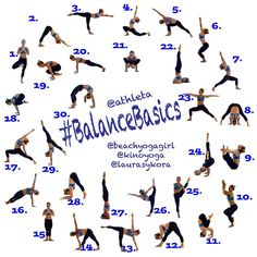 #BalanceBasics - instagram/tumblr     This challenge is about postures that will help you with the fundamentals of balance which is important for any yoga practice.   Hosts: @ laurasykora @ beachyogagirl @ kinoyoga