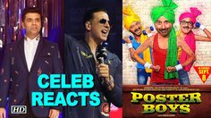 Poster BOYS | CELEBS REACTION |Sunny- Bobby Deol are BACK , http://bostondesiconnection.com/video/poster_boys__celebs_reaction_sunny-_bobby_deol_are_back/,  #AkshayKumar #akshay-bhumi #CelebsReview #dharmendranasbandi #karanjoharmovie #karanyashroohi #nasbandi #PosterBoysmovie #preitysalman #PreityZinta #PublicReview #sterlization #sunnybobbydeol #Toilet:EkPremKatha
