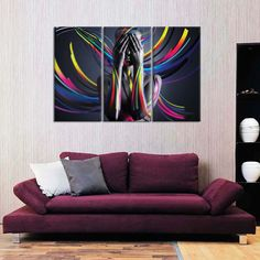 United Colors I Multi Panel Canvas Wall Art by ElephantStock is printed using High-Quality materials for an elegant finish. We are the specialists in Modern Décor canvas prints and we offer 30 day Money Back Guarantee Artist Canvas, Artist Painting, Artist Art, Grey Artist, Canvas Wall Art, Canvas Prints, Create Canvas, Blues Artists, Indie Art