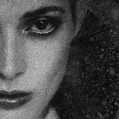 """3,977 Likes, 64 Comments - CASEY BAUGH (@caseybaugh) on Instagram: """"Another detail shot of charcoal textures. Charcoal drawing on white Bristol paper. ➰ #art #charcoal…"""""""