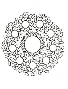 Here are Difficult Mandalas Coloring pages for adults to print for free. Mandala is a Sanskrit word which means a circle, and metaphorically a universe, environment or community. For centuries, in many cultures (eg Tibet), . Mandala Coloring Pages, Coloring Book Pages, Printable Coloring Pages, Mandala Pattern, Free Design, Vector Free, Creative, Anti Stress, Mandala Drawing