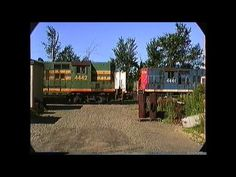 Grand Trunk switcher works Danville Junction,ME  07/30/1989