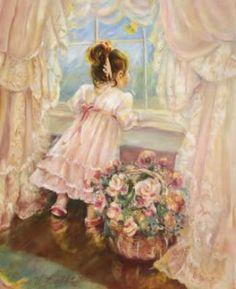 'Girl At Window'