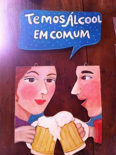 """Atelier Santo de Casa: A linha de Placas """"De Bar em Bar"""" tem encantado os..."""