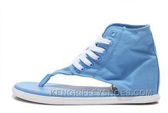 644a850eb1b3 New Age CONVERSE Lavender Blue Chuck Taylor All Star Flip Flops Roman  Sandals J2BTr