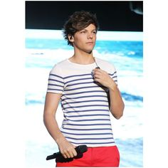 Louis Tomlinson in One Direction Live in Sydney ❤ liked on Polyvore