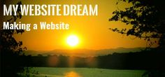 In case you missed it, here you go 🙌 My Website Dream : Chapter 1 : Making a Website http://www.mylifestyledream.com/website-dream-making-a-website?utm_campaign=crowdfire&utm_content=crowdfire&utm_medium=social&utm_source=pinterest