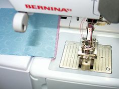 French Seams - a little trick! Use the cording or button hole foot to sew 1st seem wrong sides together. Press to one side and flip fabric right sides together. Sew slightly left of previous seem that is guided by the groove in the foot