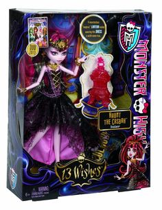 Monster High 13 Wishes Haunt the Casbah Draculaura Doll NEW IN BOX