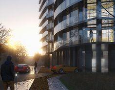 Mixed Use Development, Ukraine, Opera House, Multi Story Building, Architecture, Gallery, Behance, Check, Behavior