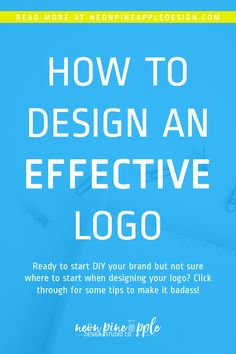 Every business needs an effective logo to see success. Click through to learn more about how you can design an effective logo of your own! Web Design Tips, Web Design Inspiration, Tool Design, Brand Design, Design Design, Branding Your Business, Brand Guidelines, Marketing Tools, Content Marketing