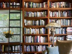 Escala para biblioteca - Stunning Children'S Books decorating ideas for Attractive Family Room Craftsman design ideas with bookcase bookshelves built in shelves built-in bookshelves Home Library home office leather