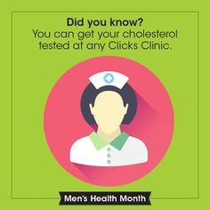 When was the last time you had your cholesterol checked? Call 0860 254 257 to make an appointment at Clicks today!