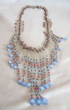 Vintage 1920s Miriam Haskell Necklace
