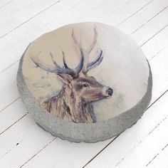 Isn't he gorgeous #voyage #stripeinteriors #stag perfect for lounging loafing and lazing.