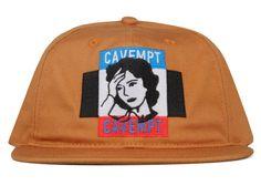 bfdf7bc82be Cav Empt MIMFA LOW CAP Brown 5 Panel Hat