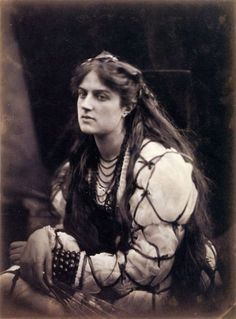 Hypatia (1867); photographer - Julia Margaret Cameron (Model - Marie Spartali Stillman)