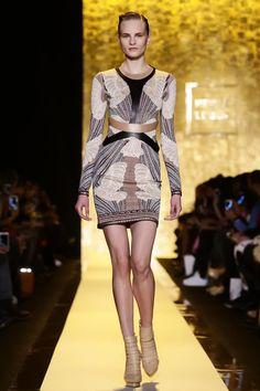 LSC|Style- Nude strappy platform heel- Hervé Léger by Max Azria RTW Fall Winter 2015 NYFW luxuryshoeclub.com