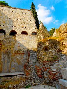 Ruins of the Roman theater in Brescia, Italy Rovine del teatro romano in Brixia Romans, Roman Empire, Impero romano