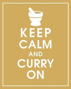 This speaks to me. Thanks to Japan I am obsessed with Curry. GIVE ME ALL THE CURRY!