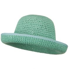Girls Roller Toyo Self Tie Hat - Turquoise