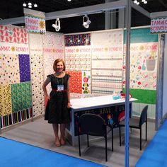 my surtex booth and a (baker's) dozen observations from a first timer