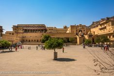Amer Fort 010: Amer palace is located within the Amer fort compound. Amer Fort, Rajasthan India, Palace, Louvre, Mansions, House Styles, Building, Photography, Travel