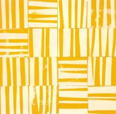 """calm in trees — visual-pulp: Ellsworth Kelly Study for """"Yellow. Geometric Patterns, Textures Patterns, Abstract Pattern, Abstract Art, Ellsworth Kelly, Yellow Art, Mellow Yellow, Hard Edge Painting, Painting & Drawing"""